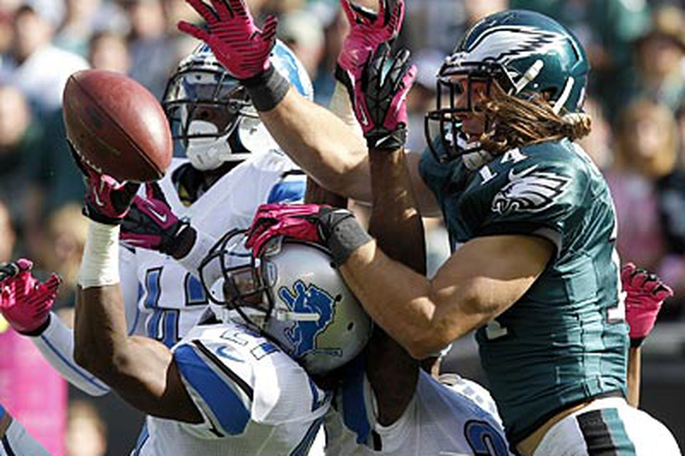 Eagles' Cooper picking up where he left off