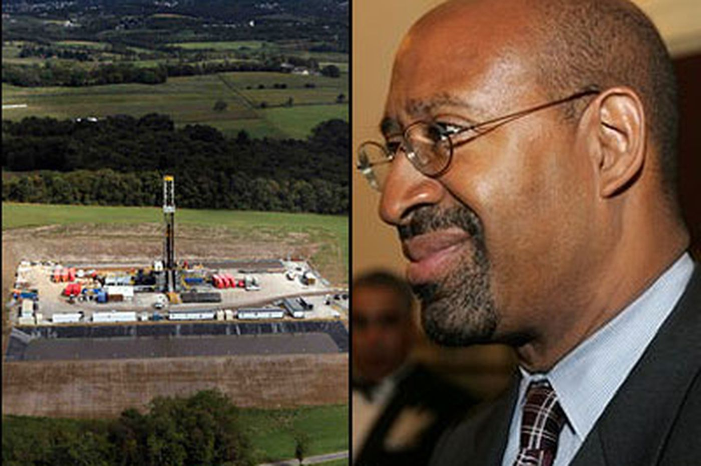 Nutter resists a role in shale showdown