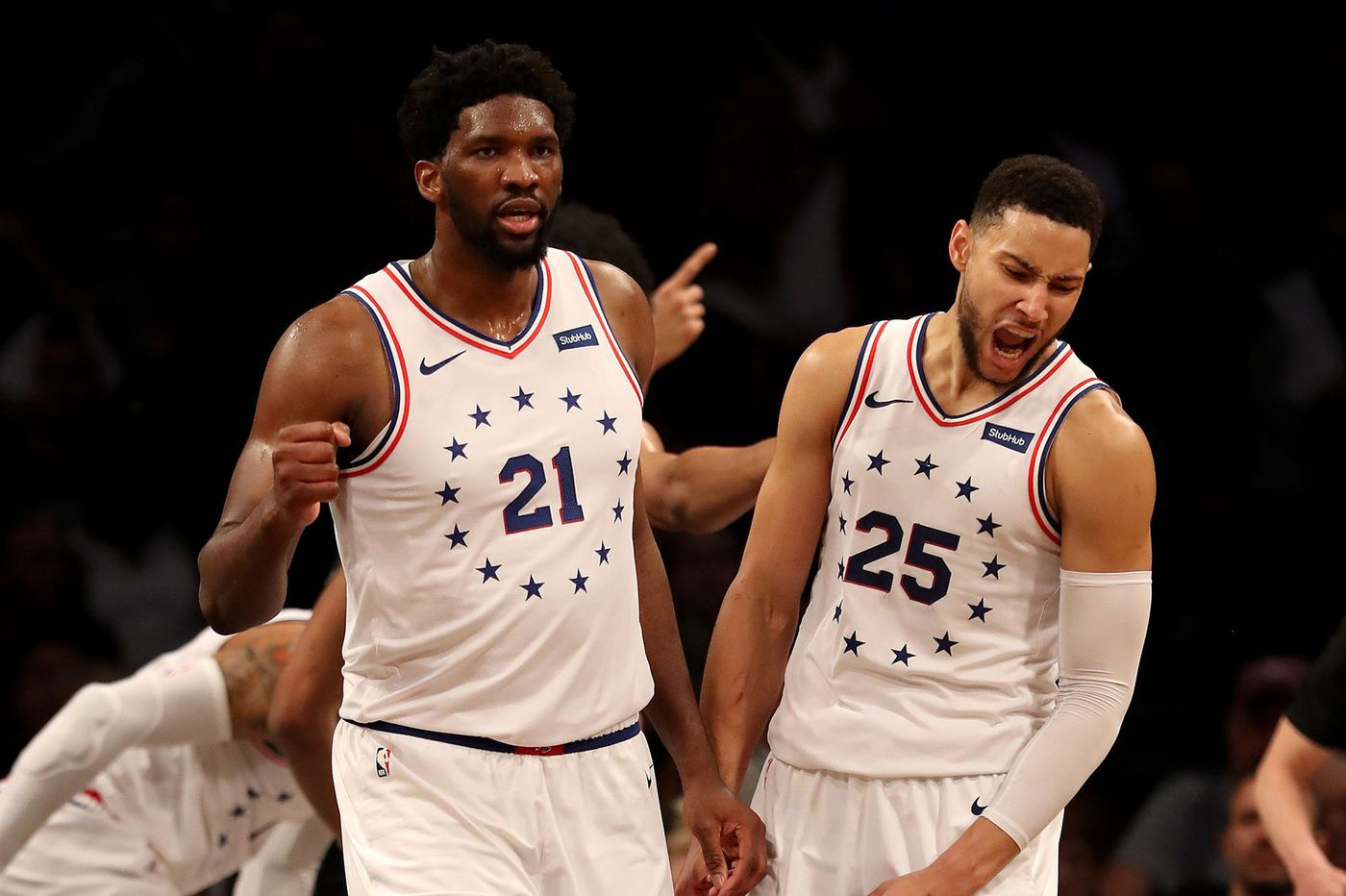 Ben Simmons and Joel Embiid owned the moment in Sixers-Nets Game 4. That's a big deal for this team | David Murphy