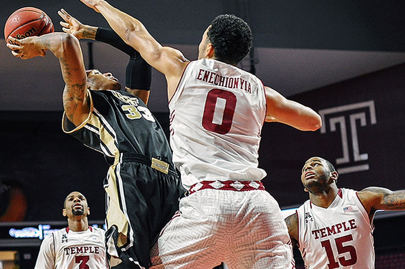 Armed with Enechionyia, Temple takes on Memphis