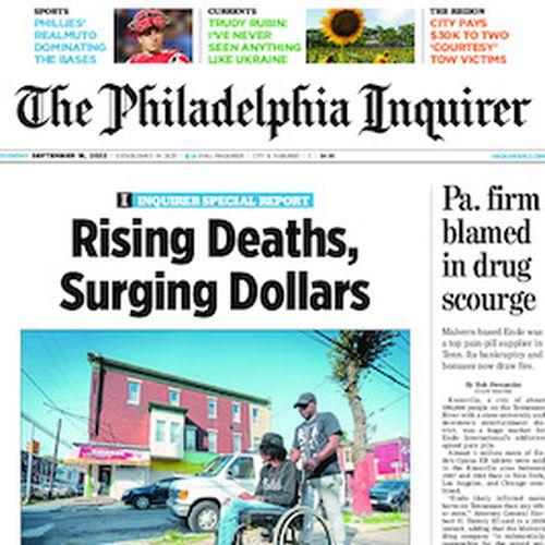 Philadelphia Inquirer newsroom staff