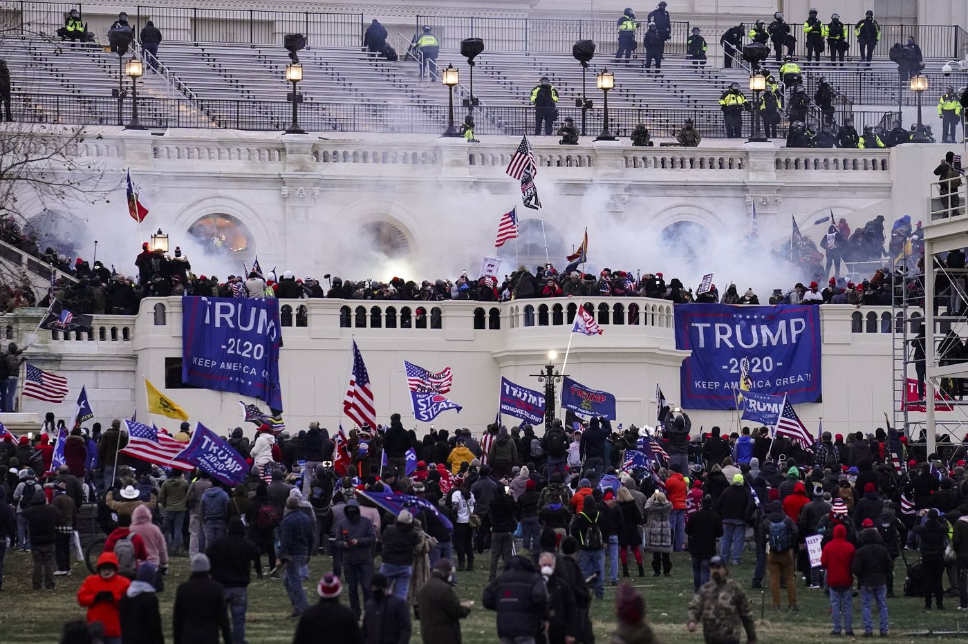 Business leaders blame Trump for Capitol attack.