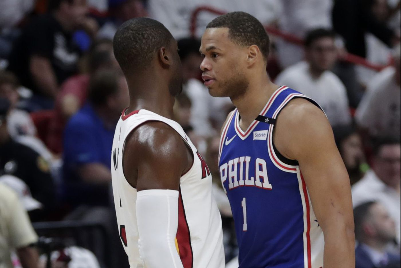 If Sixers' series against Celtics is going to be physical, Justin Anderson wants in