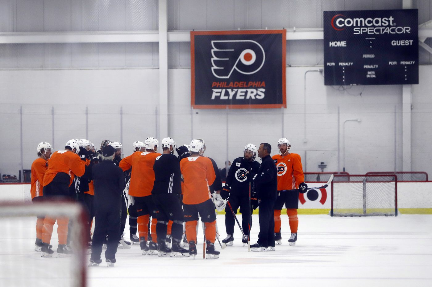 Flyers return to ice looking to regain winning chemistry | On the Fly