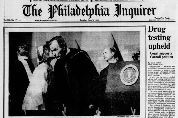 From the archives: George H.W. Bush calls on graduates of Cheltenham High School's Class of 1989 to join 'crusade'
