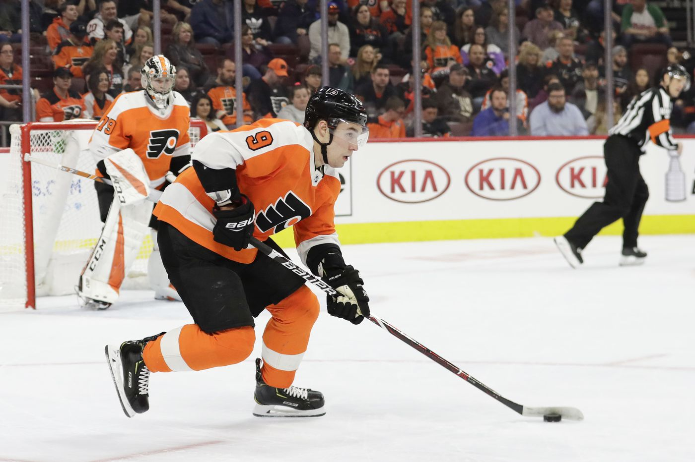 With Scott Laughton signed, Flyers GM Chuck Fletcher turns toward Ivan Provorov and Travis Konecny