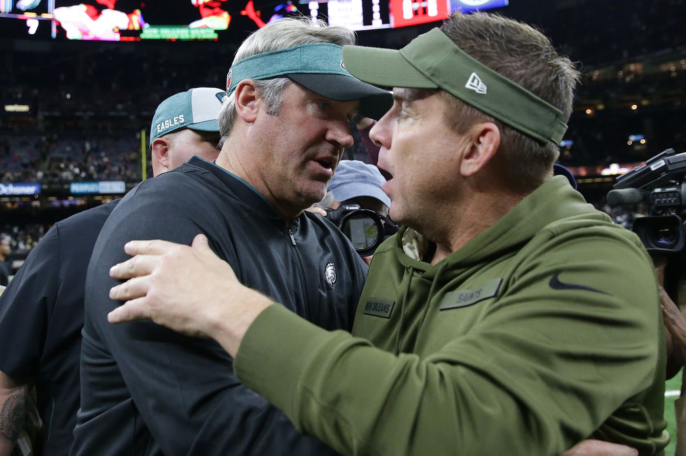 Eagles-Saints is as much Sean Payton vs. Doug Pederson as it is Drew Brees vs. Nick Foles | David Murphy