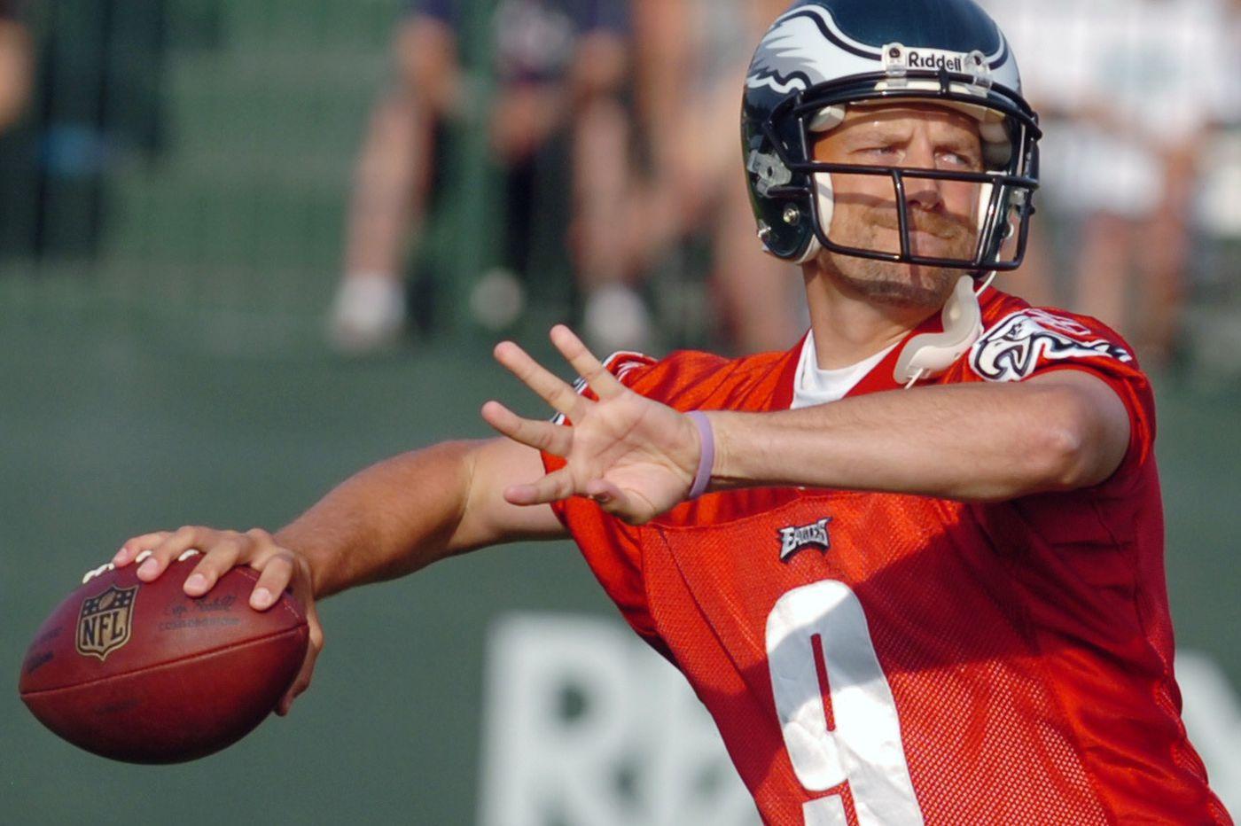 078eaf409bd Why Matt Nagy spent one morning as an Eagles backup quarterback | Jeff  McLane
