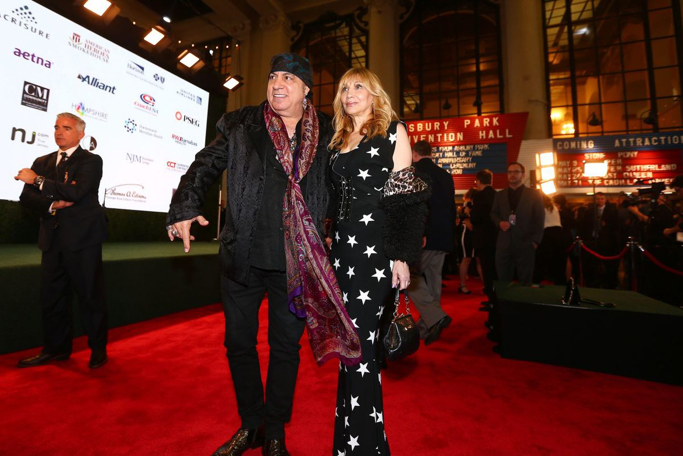 Watch: Bruce Springsteen inducts Steven Van Zandt into NJ Hall of Fame in surprise stop