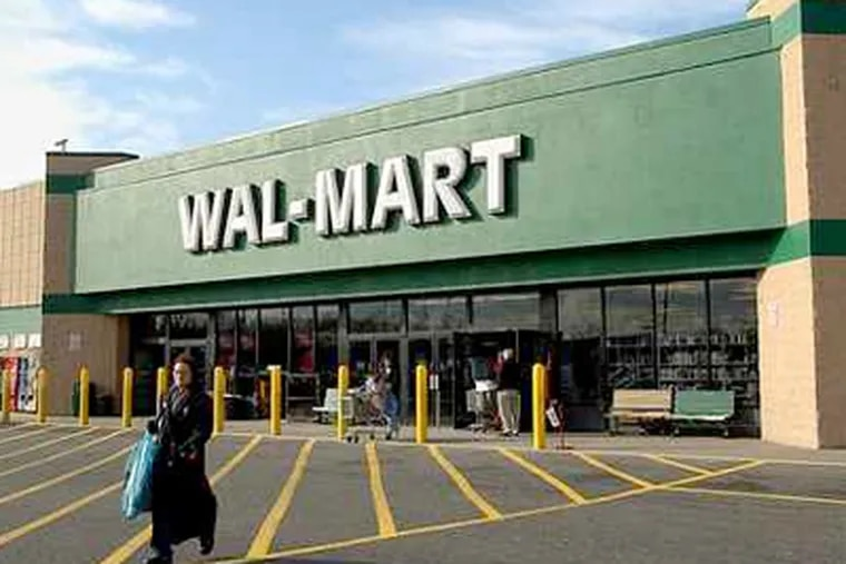 The Wal-Mart in the Turnersville section of Washington Township, N.J., where a 16-year-old was charged in connection with a racist announcement there. (Sharon Gekoski-Kimmel / Staff Photographer)