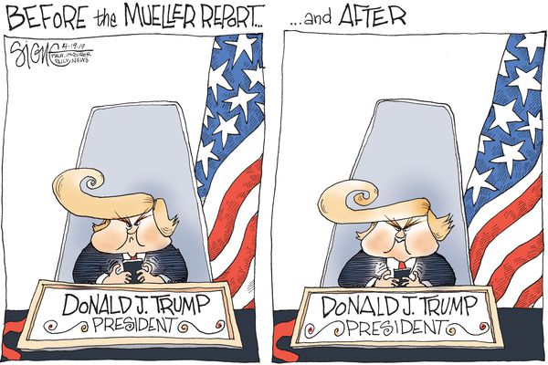 Political Cartoon: The Mueller Report