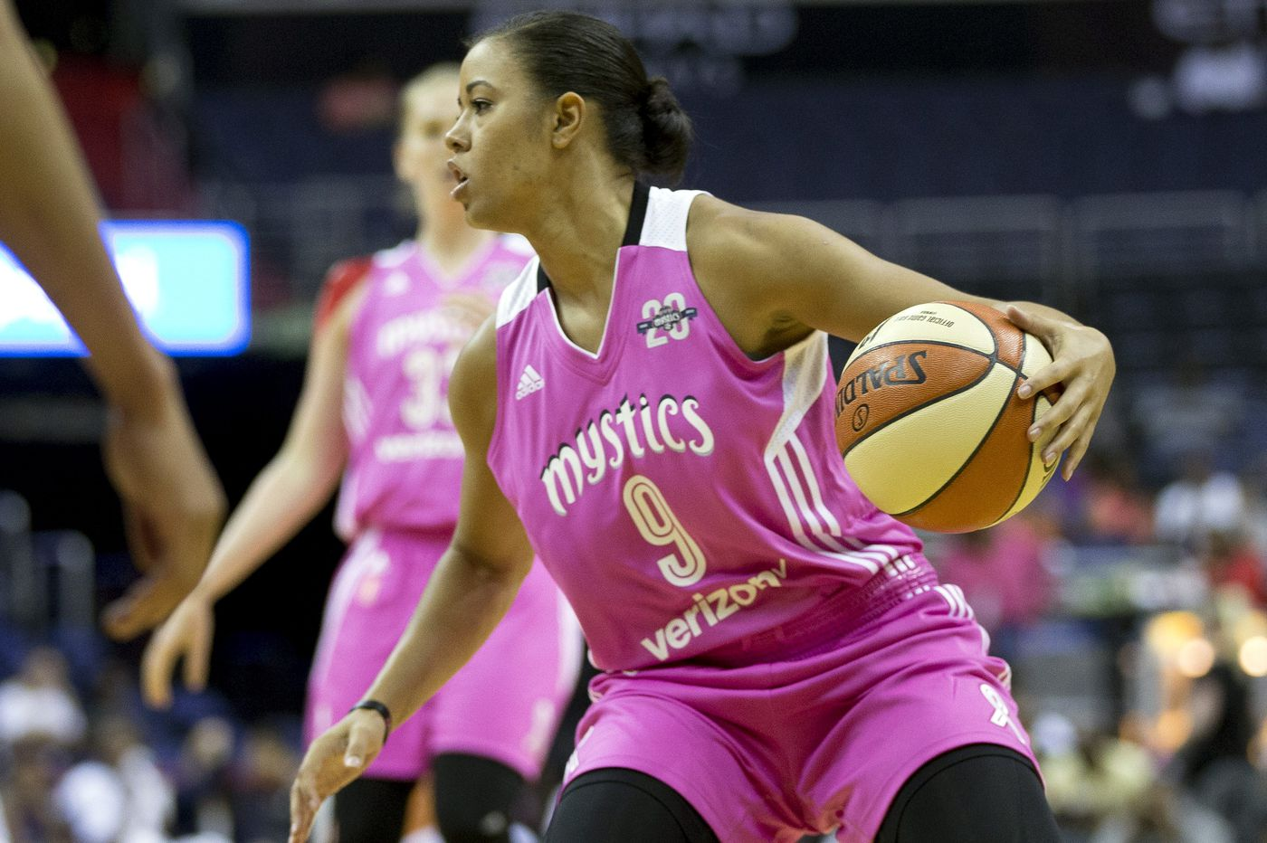 Former St. Joseph's star Natasha Cloud wants to stay in D.C. and is giving Mystics reasons to keep her