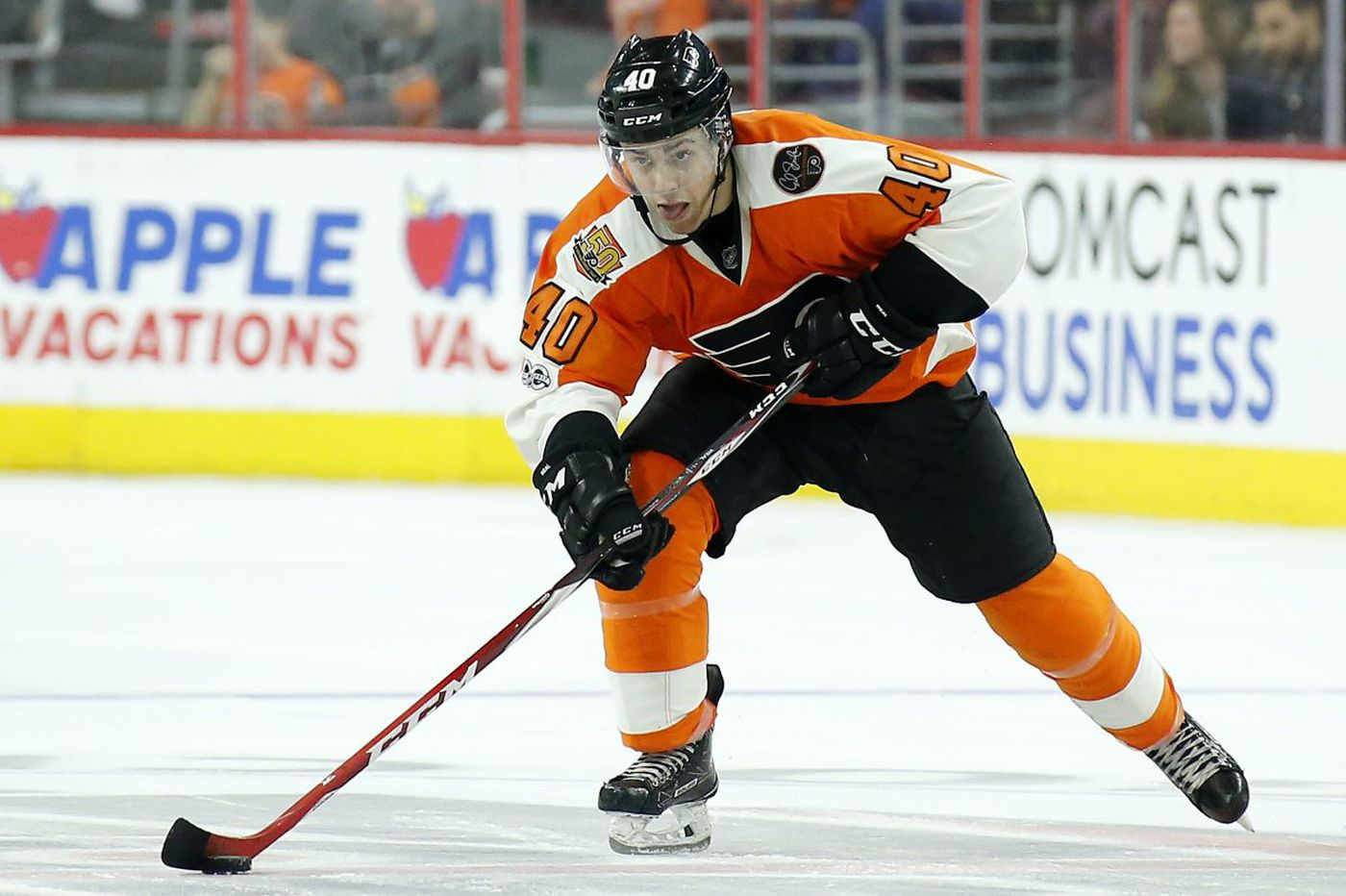 Flyers, lean at left wing, re-sign Jordan Weal