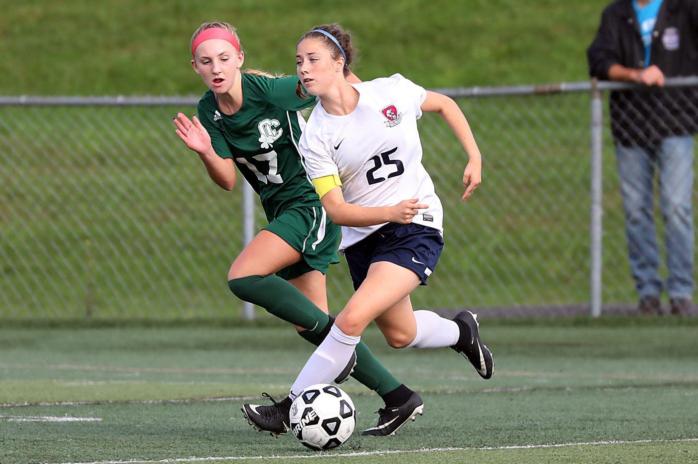 Sara Brocious helps make Eastern a girls' soccer powerhouse