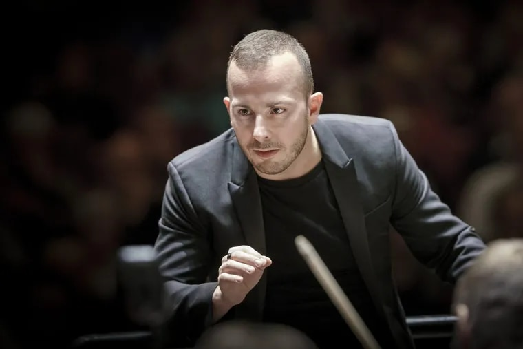 Yannick Nézet-Séguin. Music Director of the Philadelphia Orchestra in a file photo