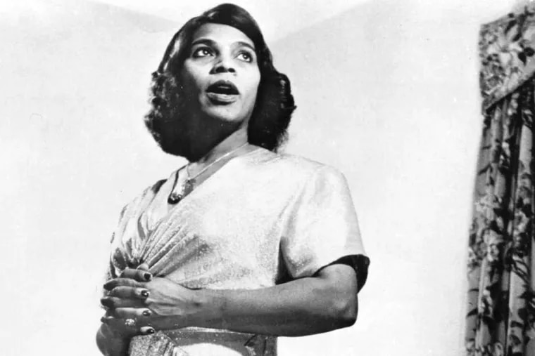 Marian Anderson, opera diva, civil rights activist, and Philadelphian, in the 1940s. The award in her honor has been presented every year since 1989.