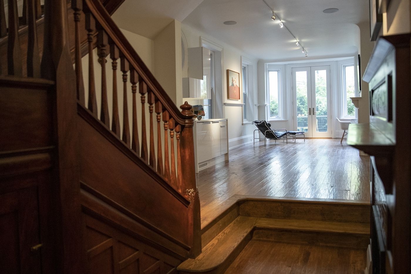 Center City Philadelphia Victorian updated for the modern age