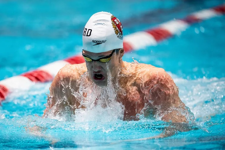 David Abrahams, a Haverford High graduate, is a junior at Harvard University, where he competes on the swim team. He has qualified for three events at the Paralympics in Tokyo.