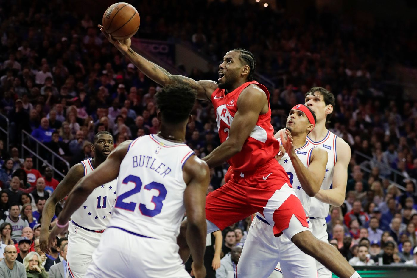 newest 58365 50e2e NBA playoffs  Predicting Game 7 between the Sixers and the Raptors