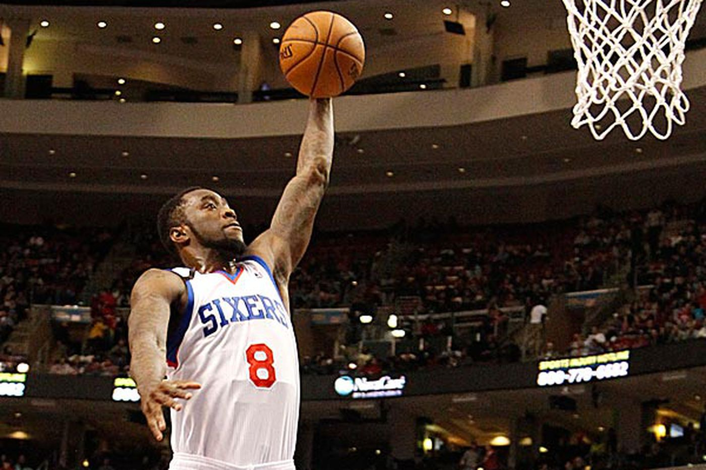 Sinking Sixers work to shore up defense