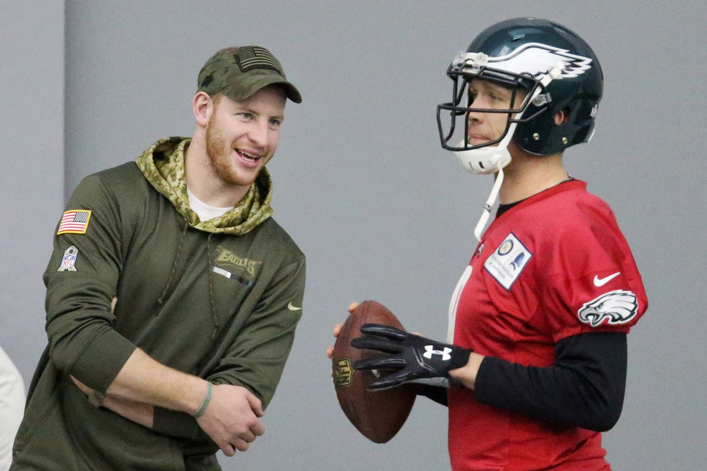 Report: Carson Wentz still sidelined with knee injury, Nick Foles will start Eagles' season opener against Falcons