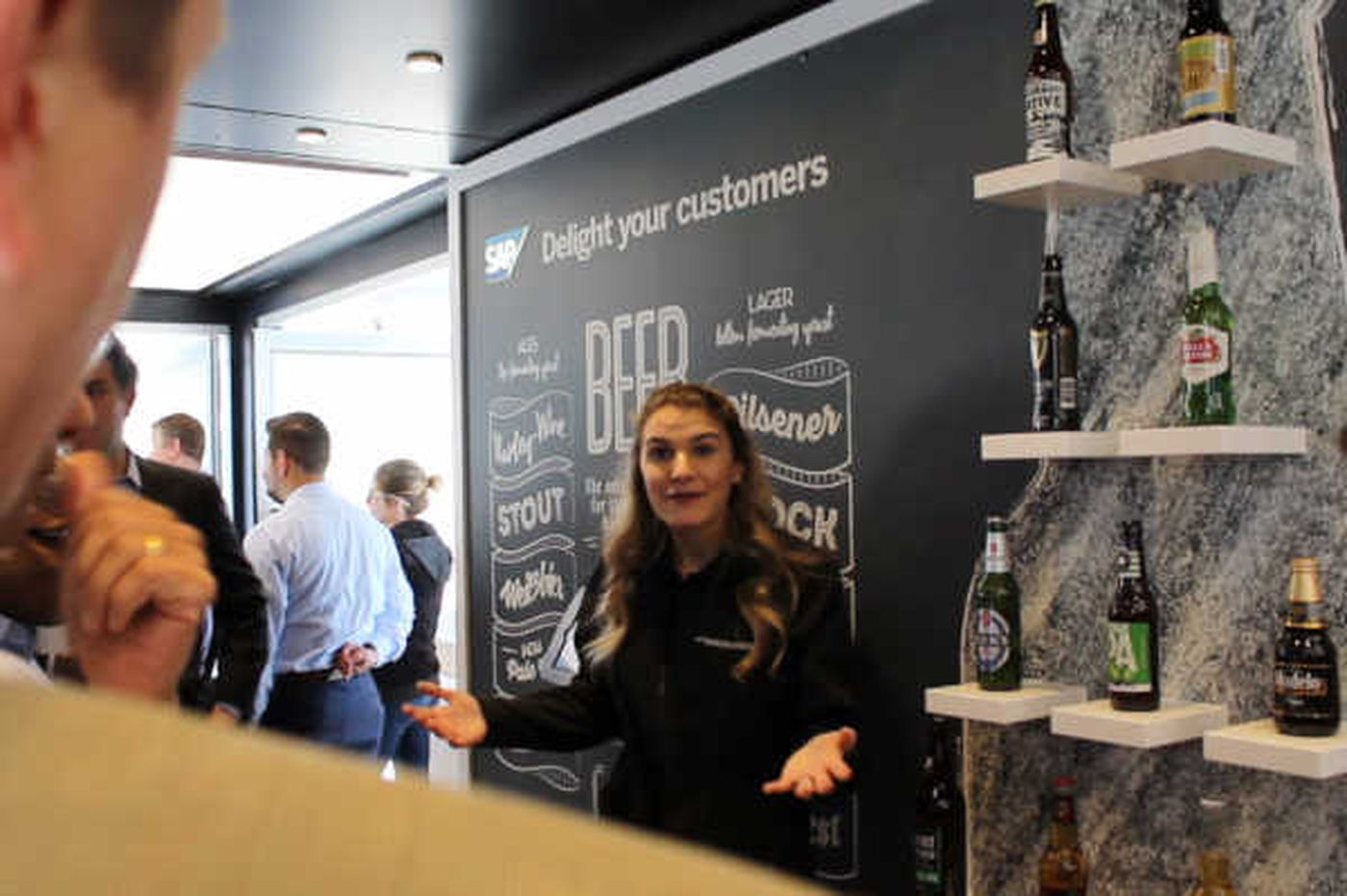 SAP shows off its snazzy, beer-choosing product and other software marvels