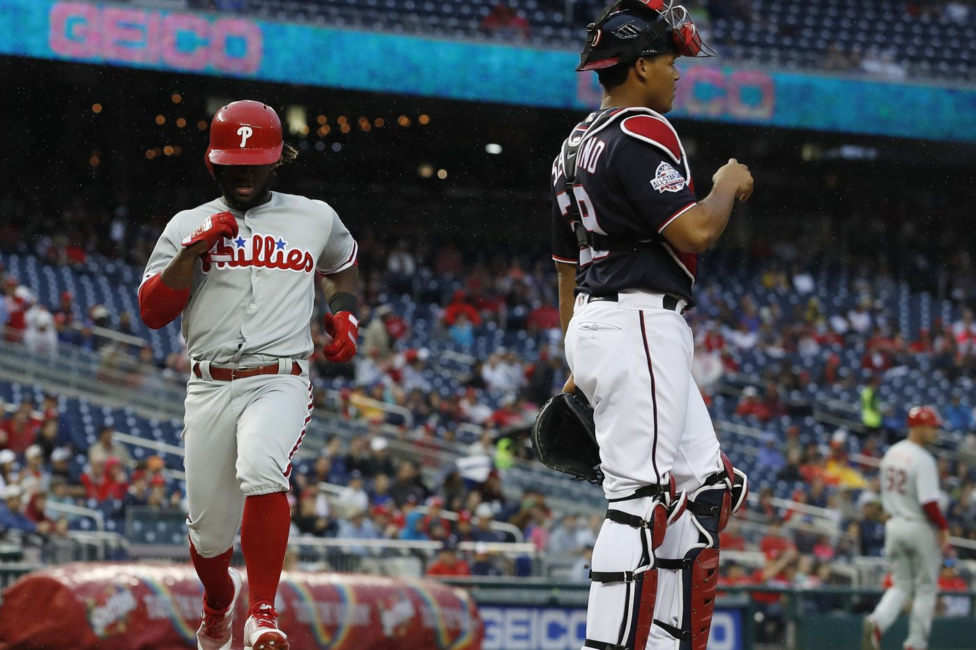 Four hits, another homer for Odubel Herrera as Phillies begin critical stretch with rout of Nationals
