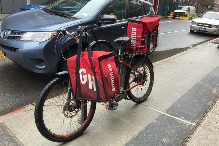 Grubhub announced a rise in its fees in Philadelphia but quickly rescinded the action.