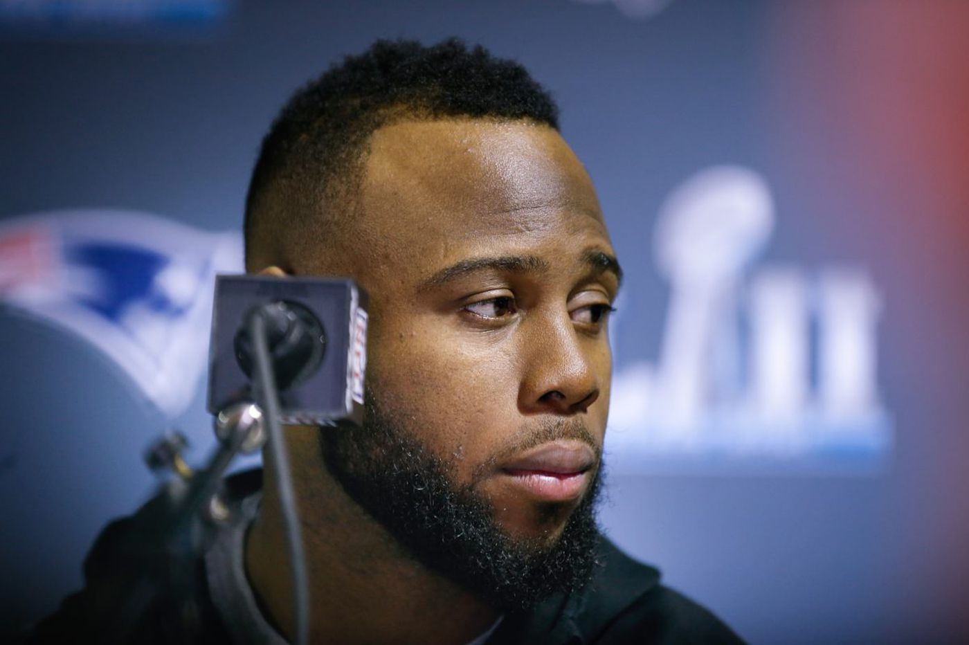 Patriots running back James White a reluctant Super Bowl hero
