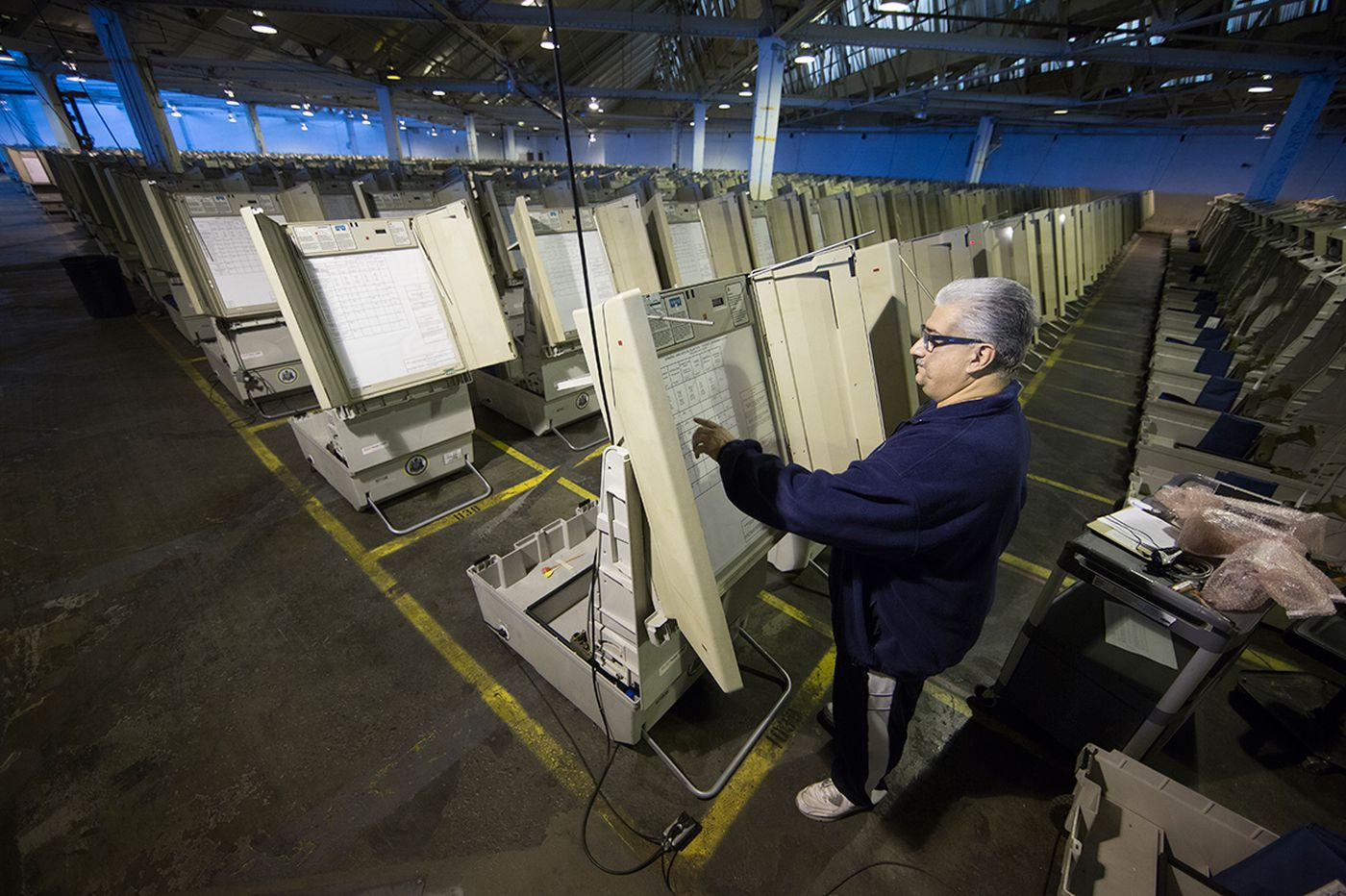 Pa. lawmaker questions governor's drive for new voting machines