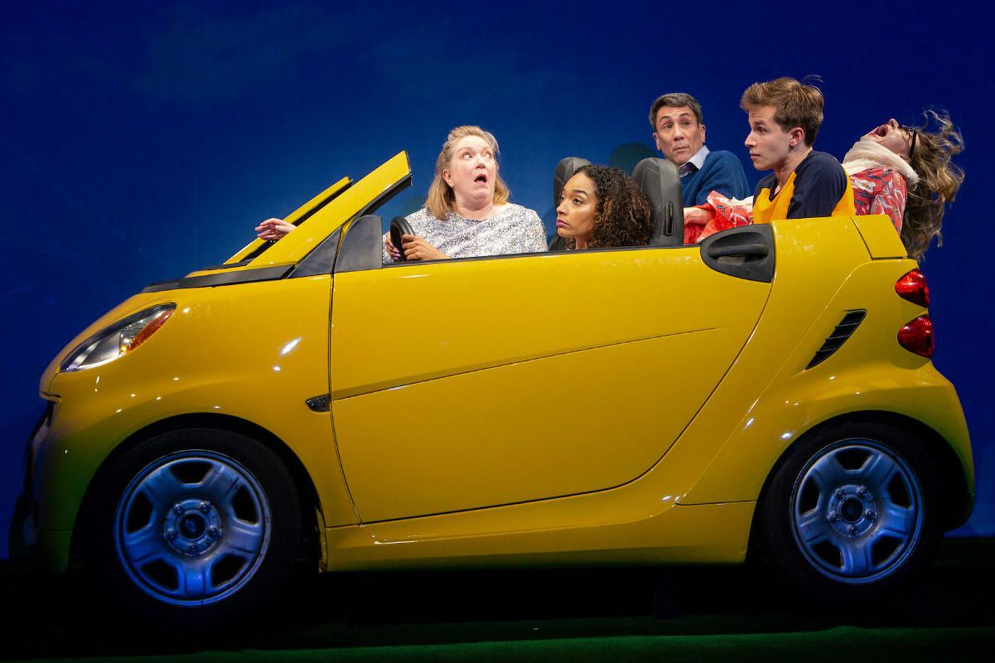 'Turning off the Morning News' at McCarter Theatre: Crazy-funny, laced with darkness