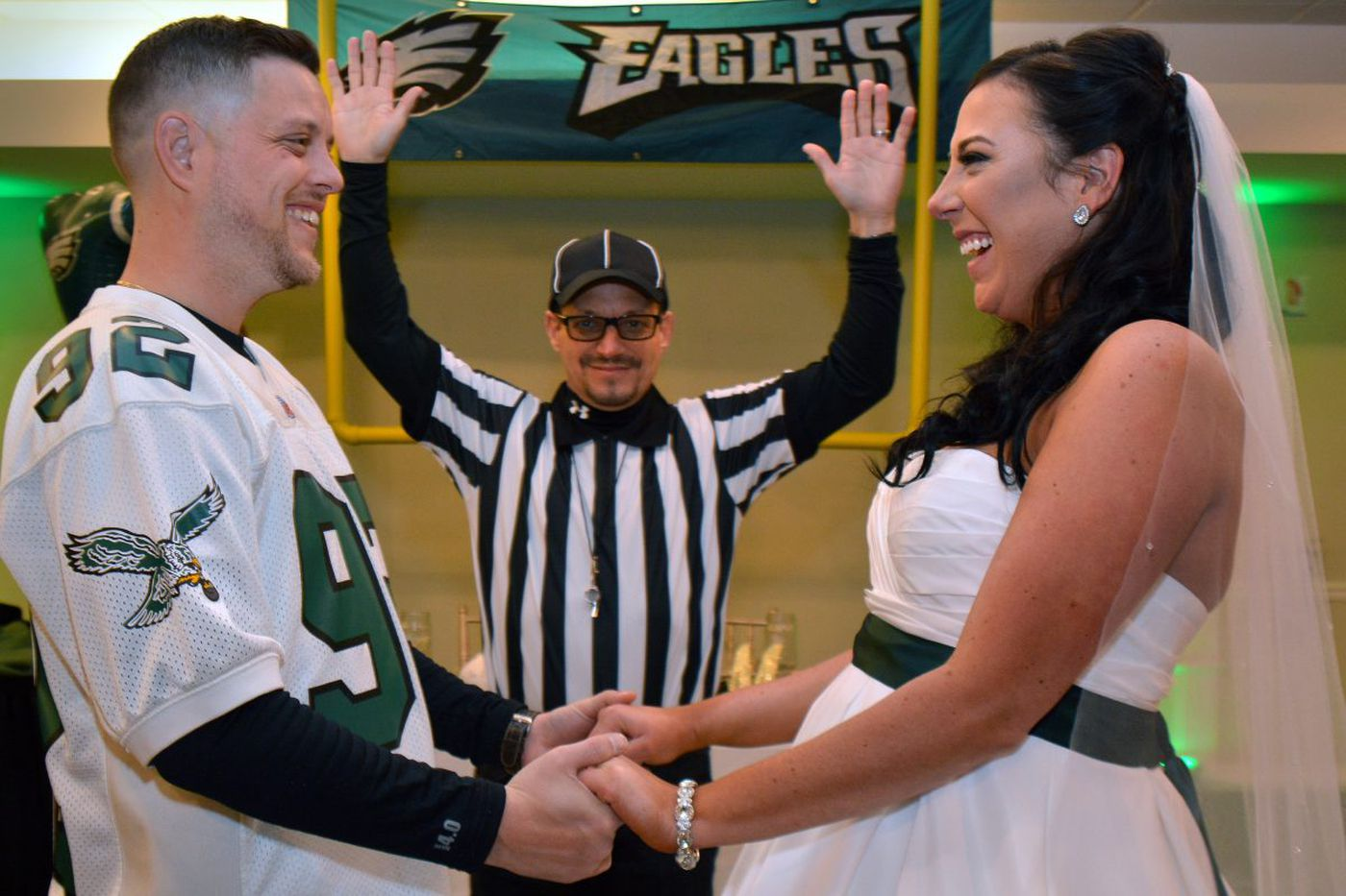 Philly fans threw an Eagles-themed wedding on Super Bowl Sunday | Jenice Armstrong