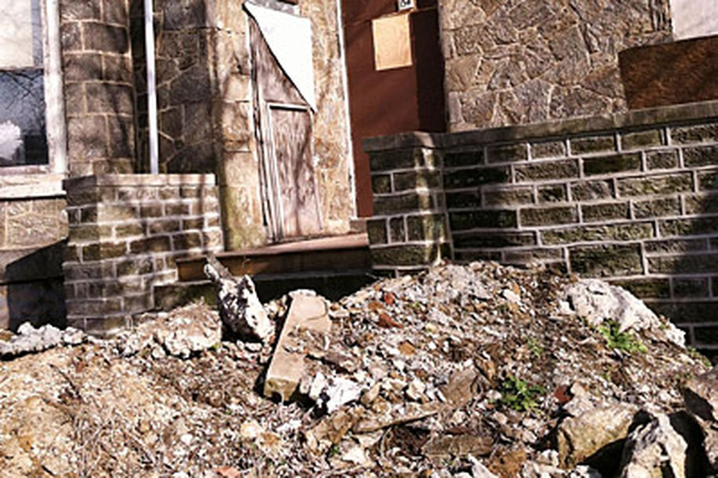 His mansion's crumbling - but city can't seem to take him down