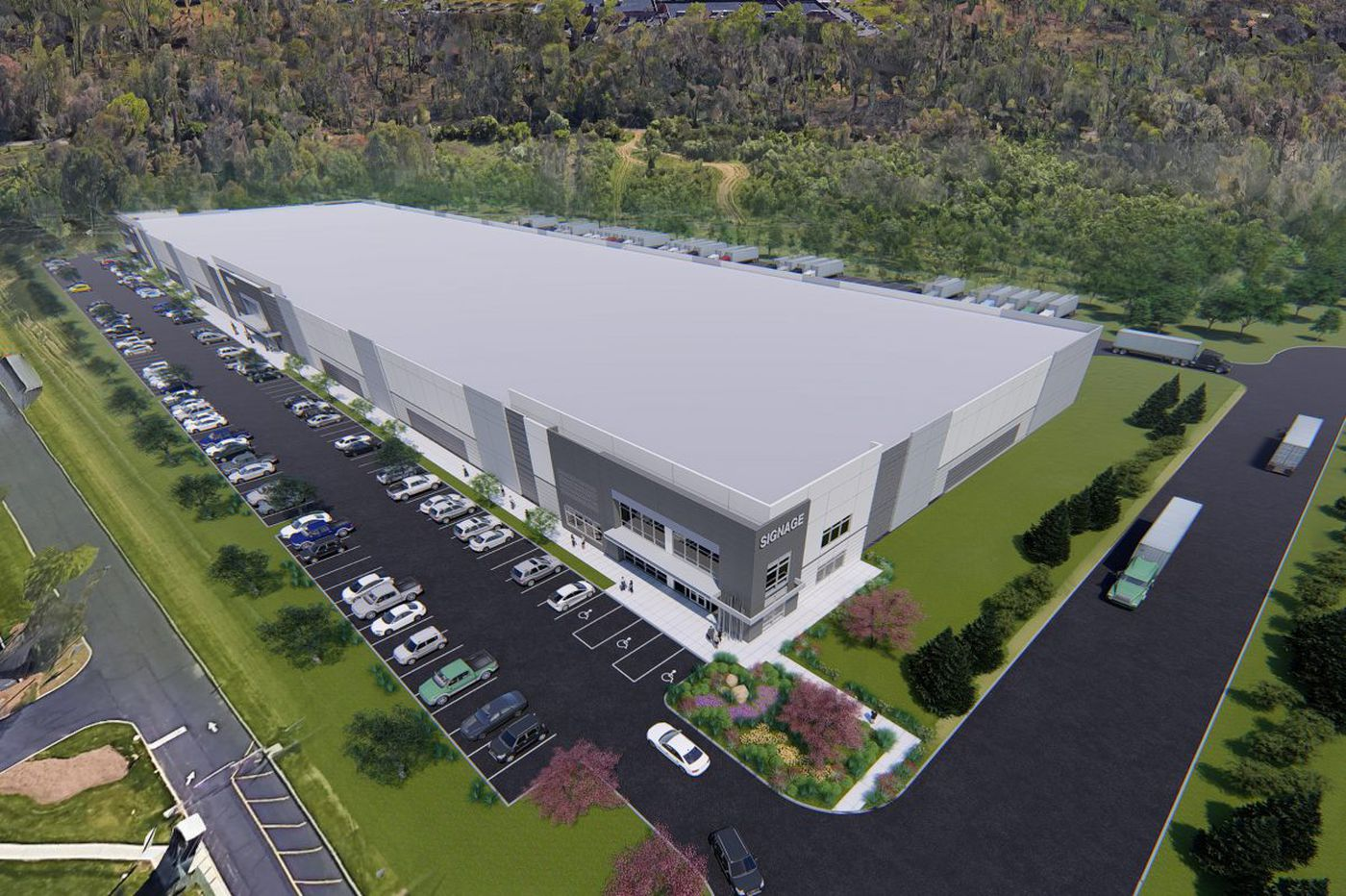 'Speculative' distribution hub for e-commerce businesses underway in Northeast Philly