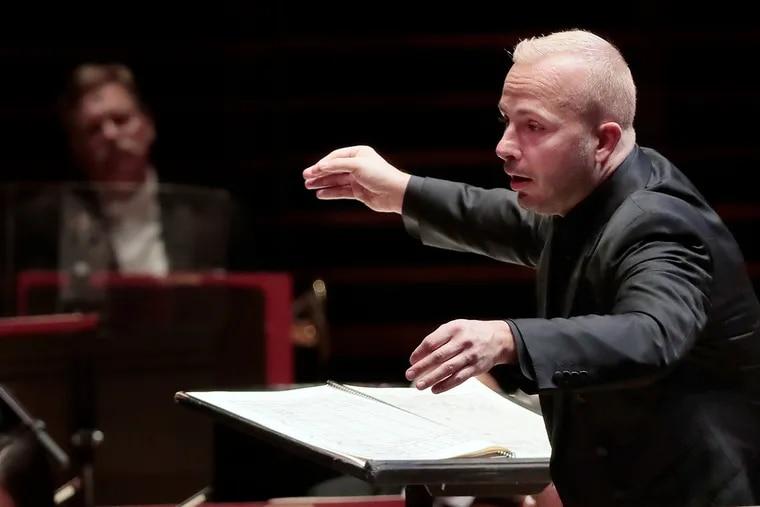 Philadelphia Orchestra music director Yannick Nezet-Seguin