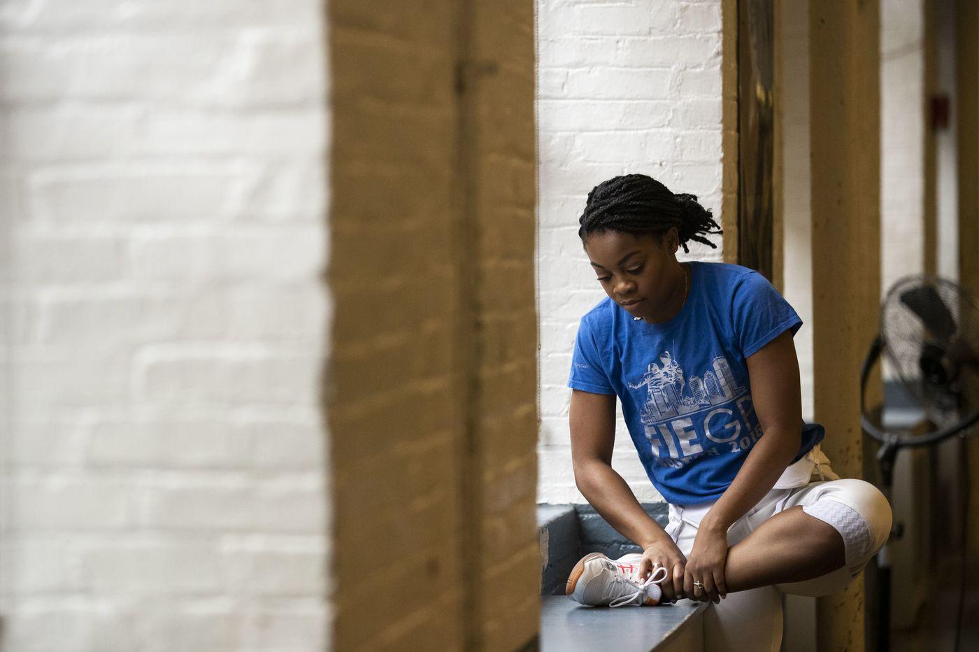 Former Temple fencer Kamali Thompson's dreams on hold as coronavirus postpones Olympics