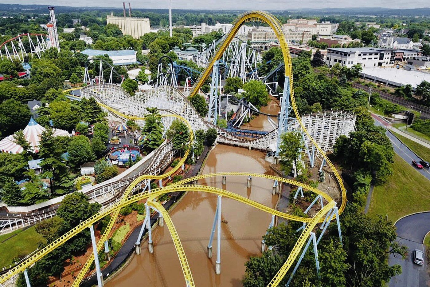 Hersheypark to remain closed Thursday due to flooding