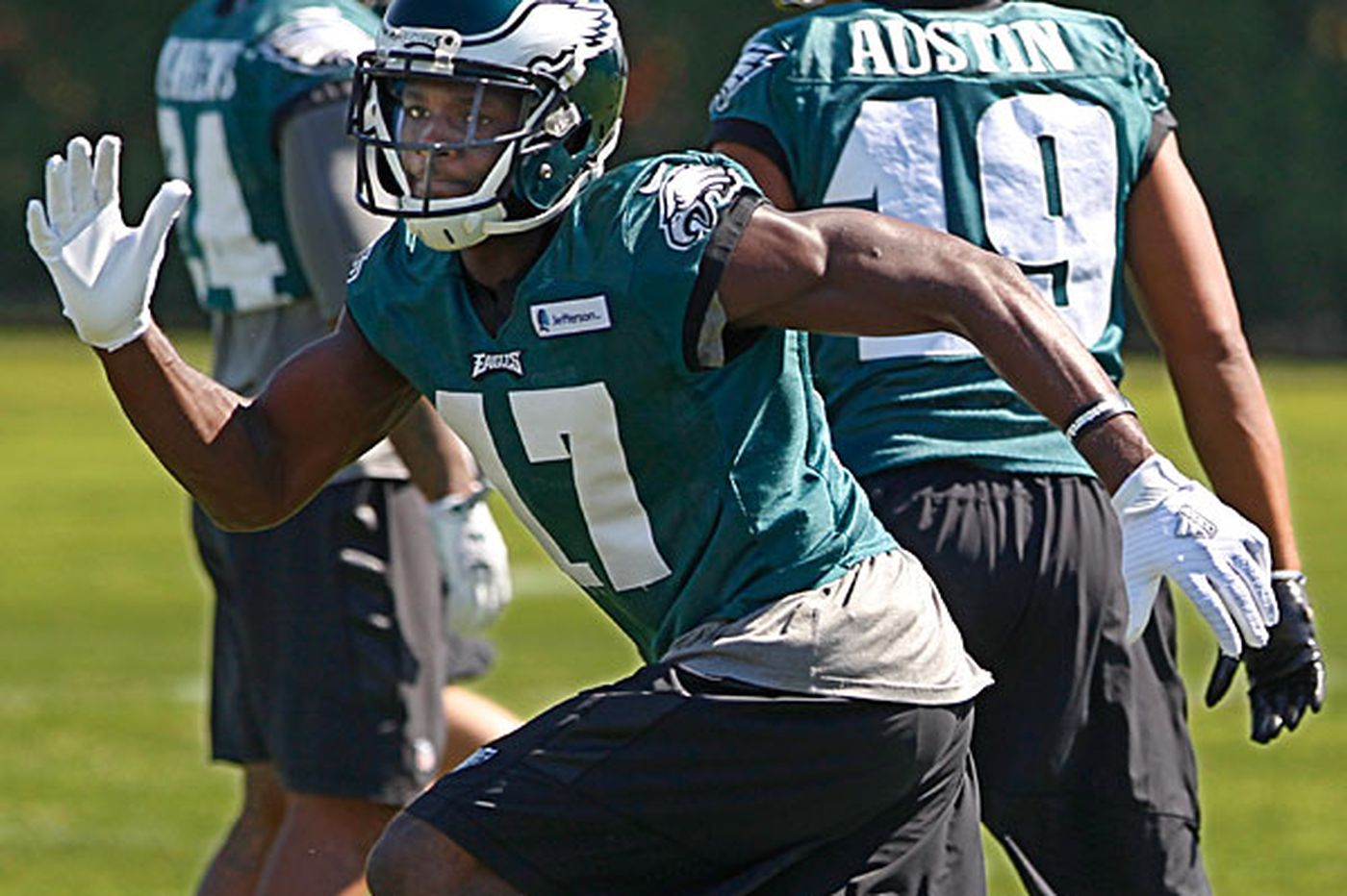 Top pick Agholor still seeking breakout game for Eagles