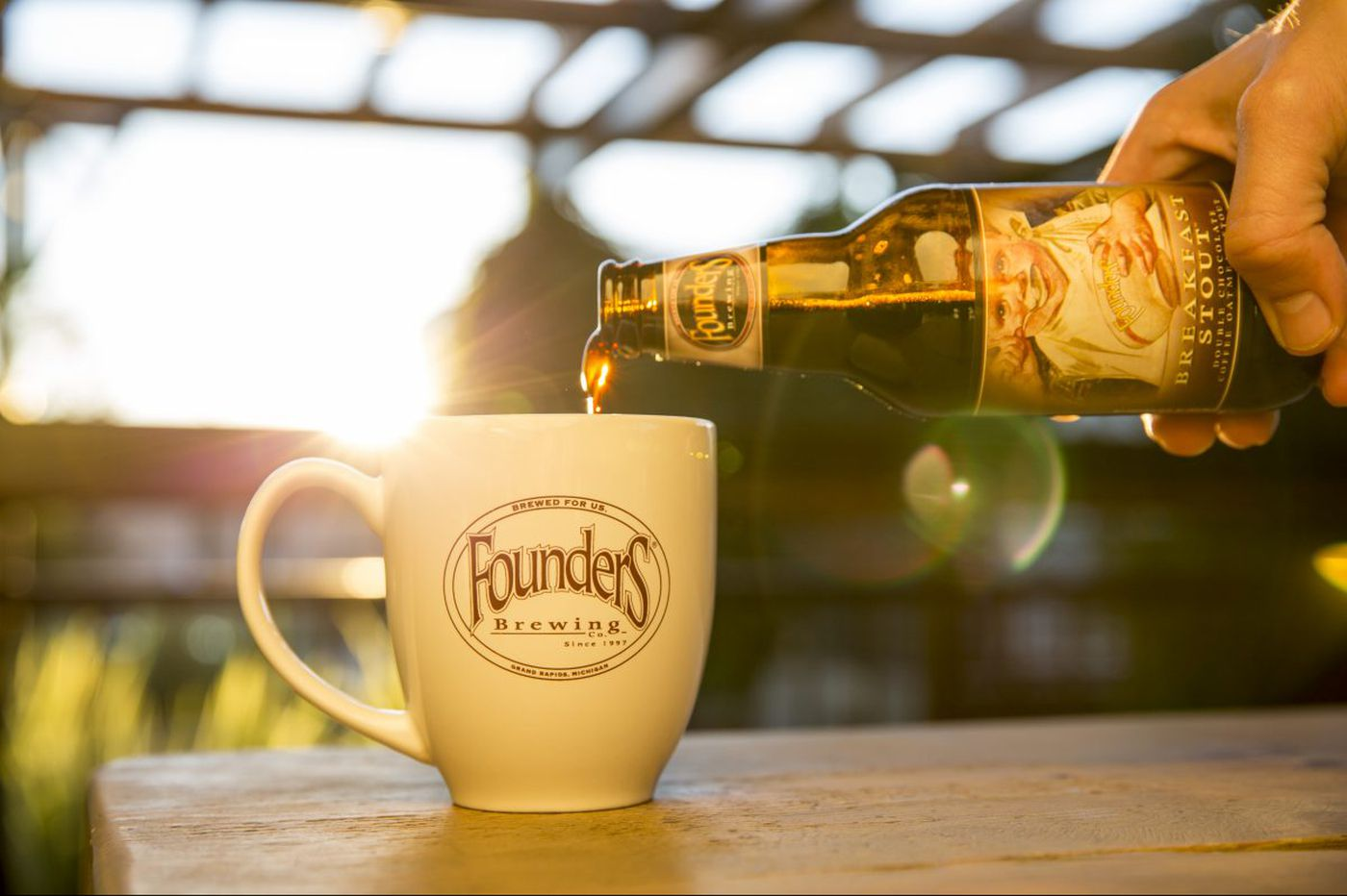 Founders Breakfast Stout, a wake-up beer, now available year-round