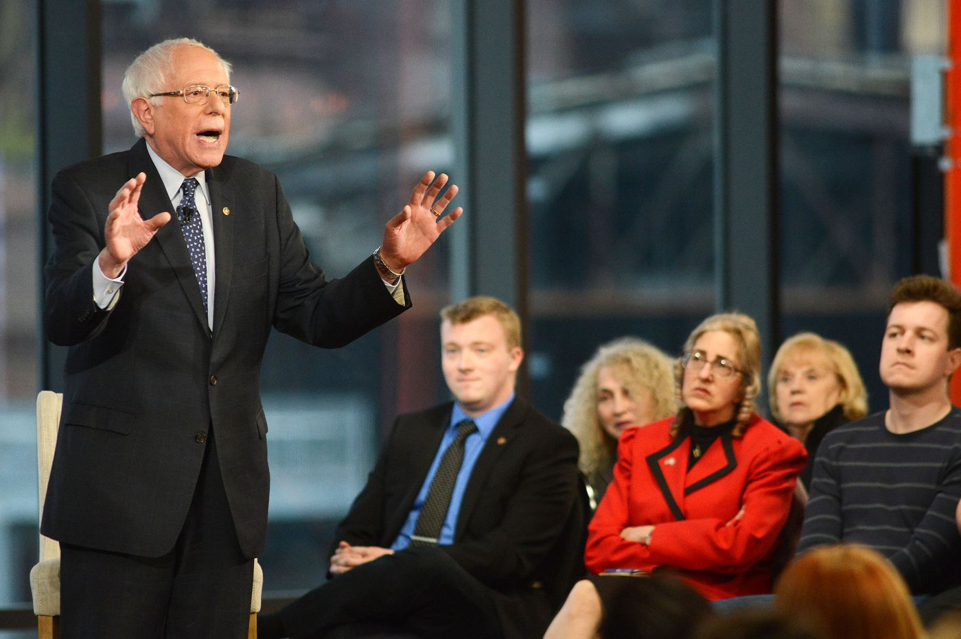With Pa. swing and Fox News town hall, Bernie Sanders makes pitch he can beat Trump