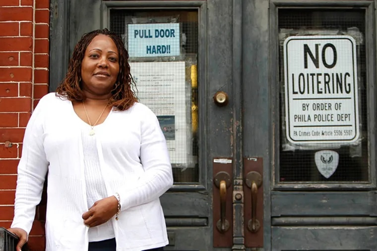 Rochelle Bilal, who is the president of the Guardian Civic League, is retiring after 27 years with the Philadelphia Police Department in Philadelphia on April 11, 2013. ( DAVID MAIALETTI / Staff Photographer )