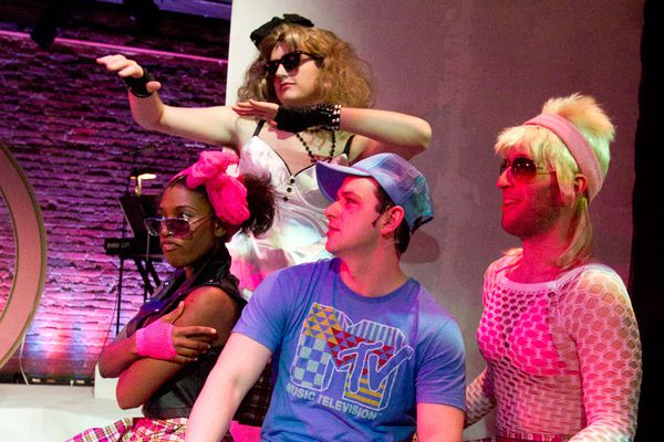 Michael Ogborn creates groundbreaking froth with silly sports musical at 11th Hour Theatre Company