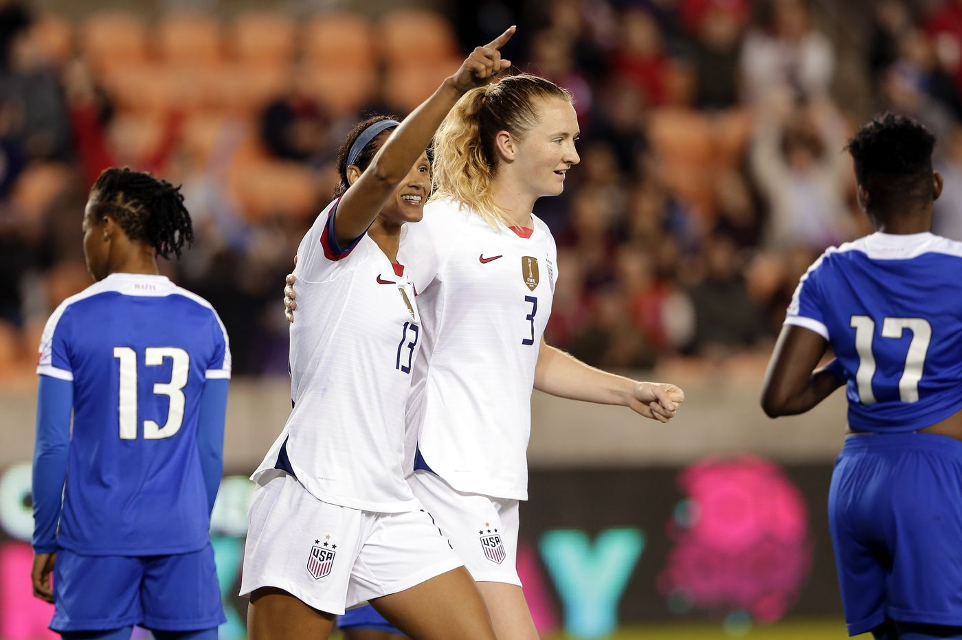 USWNT begins Olympic qualifying with rocky 4-0 win over Haiti