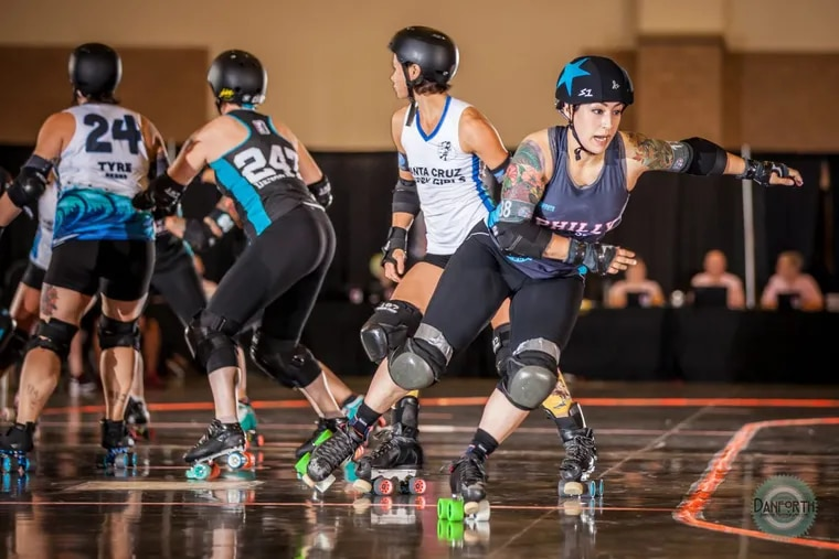 The International Roller Derby Championshps hit the the Liacouras Center Friday through Sunday.