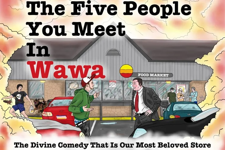 Comedian Nick Kupsey, 39, released his book, The Five People You Meet In Wawa, on Oct. 21.