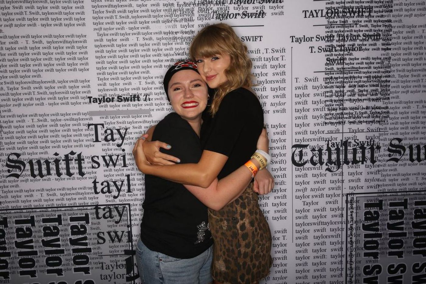 Scranton woman fighting cancer meets Taylor Swift in Philly thanks to Meghan McCain