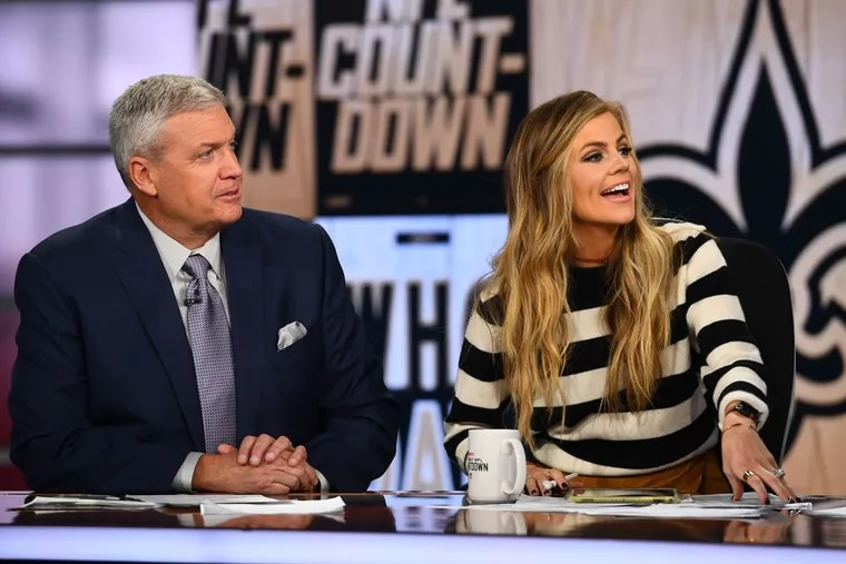 """""""Sunday NFL Countdown"""" host Sam Ponder and analyst Rex Ryan are heading down to Philadelphia ahead of Eagles-Cowboys."""