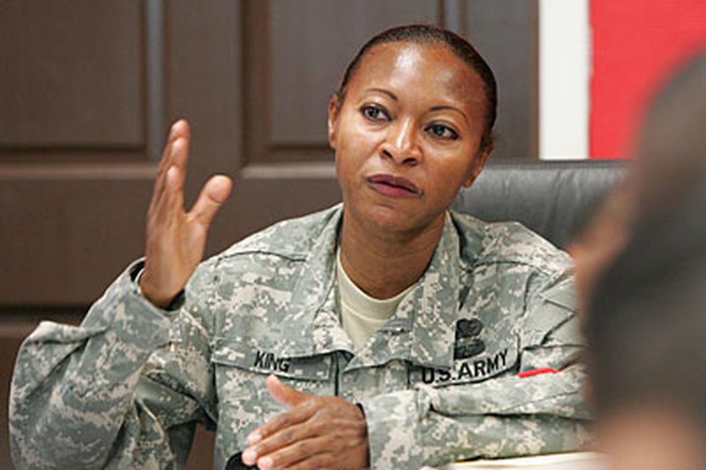 Army sergeant says suspension tied to bias