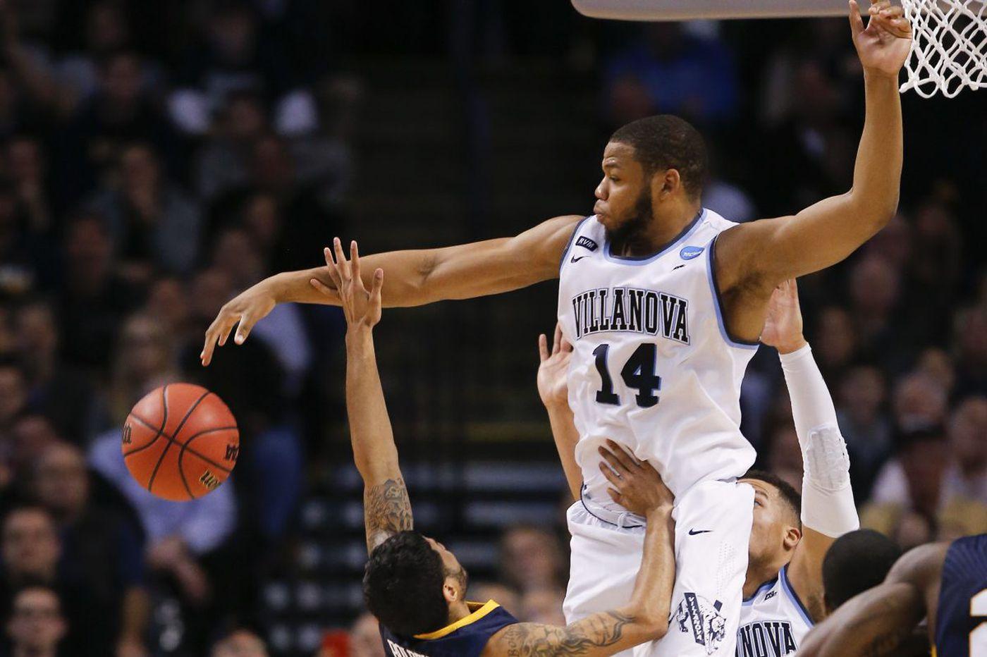 Villanova outlasts West Virginia in Sweet 16, 90-78