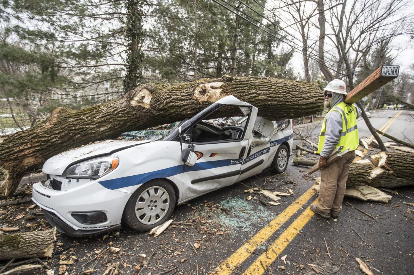 After nor'easter, 'everyday heroes' helped get the power back on | Perspective